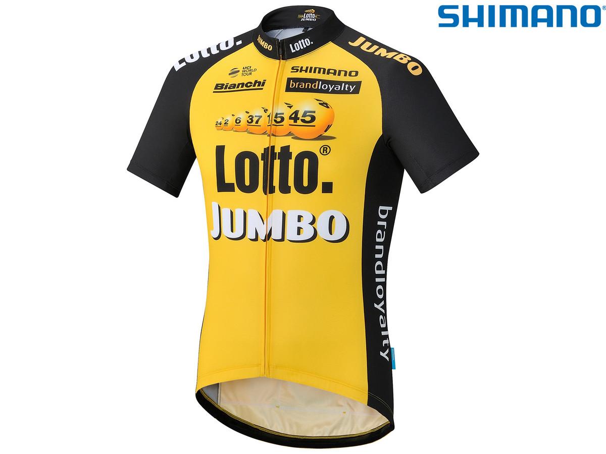 60 korting shimano lottonl jumbo fietsshirt e1995 ibood