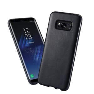 kisscase hybrid soft tpu pu leather ultra thin cover case for samsung