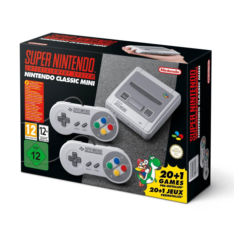 product nintendo classic mini super nintendo entertainment system snes europe pal versie