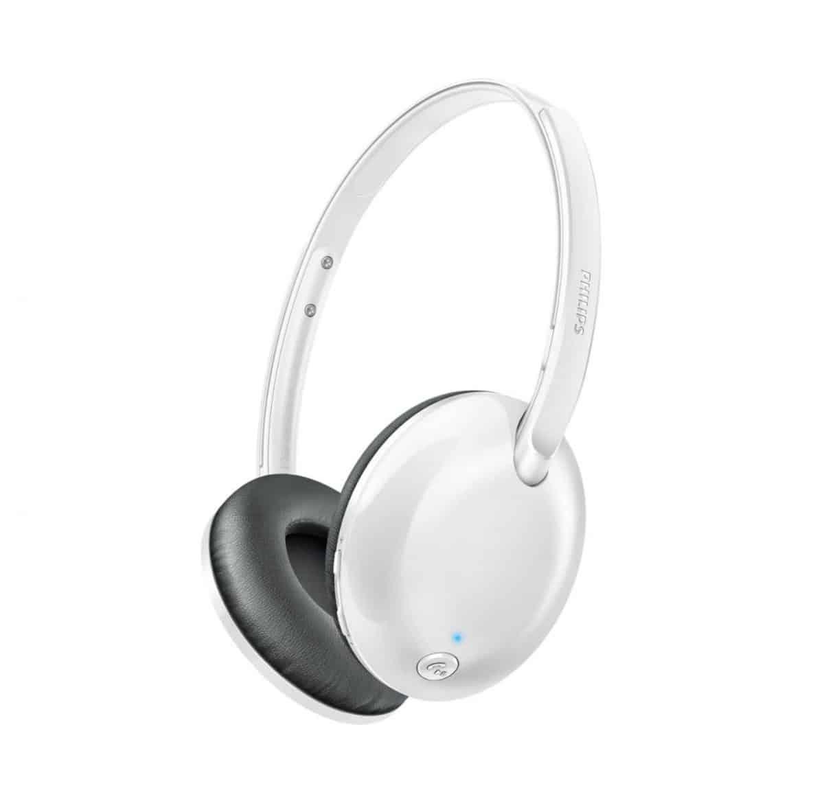 product philips shb4405 draadloze on ear koptelefoon wit