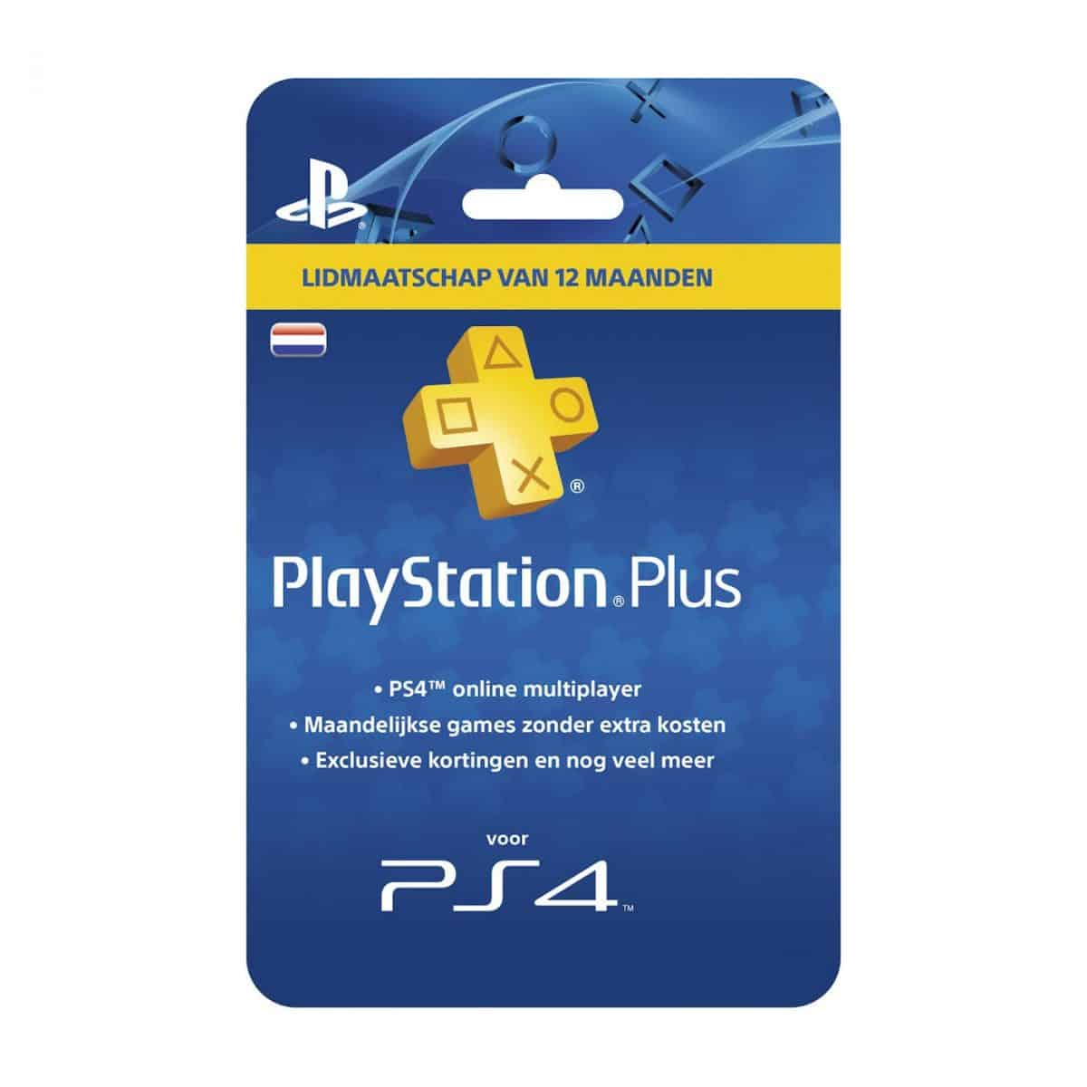 product sony playstation plus abonnement 12 maanden nl psn