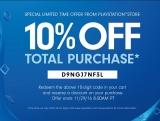 10% extra korting bij Playstation Store US