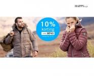 10% Kortingscode op alles bij Happy Size