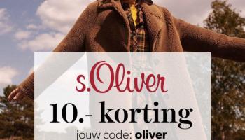 €10 Kortingscode s.Oliver bij Wehkamp