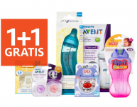 1+1 Gratis alle baby accessoires bij Etos