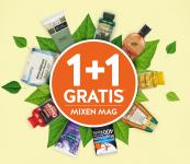 1+1 Gratis op 1173 producten bij Holland & Barrett