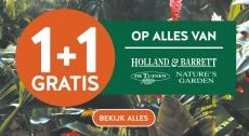 1+1 Gratis op 900+ producten bij Holland & Barrett
