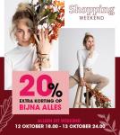 20% Extra Korting met Shopping Weekend bij Lucardi