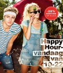 20% Extra korting op alles met de Happy Hours bij dress-for-less