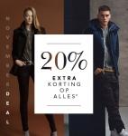 20% Extra korting op alles met November Deal bij dress-for-less