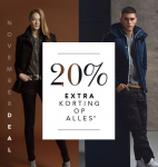 20% Extra korting op alles met November Deal bij dress-for-less