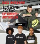 20% Extra Korting op Kinderartiekelen met Kids Weekend bij Aktiesport