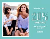 20% Korting nieuwe collectie bij WE Fashion