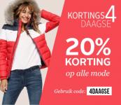 20% Korting op alle mode met Kortings4daagse bij OTTO