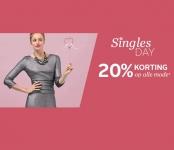 20% Korting op alle mode met Singles Day bij Otto