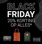 20% Korting op alles met Black Friday bij The Little Green Bag