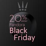 20% Korting op bijna alles tijdens Black Friday bij PANDORA