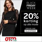 20% Kortingscode op alle mode met Black Friday bij Otto
