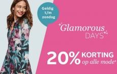 20% Kortingscode op alle mode met Glamourous Days bij OTTO