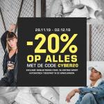 20% Kortingscode op alles met Cyber Monday bij Snipes