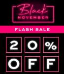 20% Kortingscode op Co-creator producten met Black November Flash Sale bij Revolution Beauty