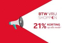 21% Korting op alle mode met BTW Shoppen kortingcode bij OTTO