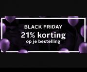 21% Korting op je besteling met Black November Flash Sale bij LASCANA