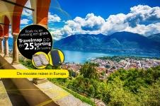 €25 Korting en Gratis Travelmap op alle reizen binnen Europa bij Oad