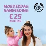 €25 Korting met kortingscode voor moederdag bij The Body Shop