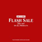 25% Korting op alles met Flash Sale bij BSTN