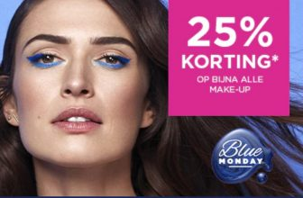 25% Korting op bijna alle make up op Blue Monday bij ICI PARIS XL