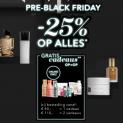 25% Korting op bijna alles + 2 cadeaus met Pre Black Friday 2020 bij Douglas