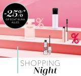 25% Korting op bijna alles en Gratis met Shopping Night bij Douglas
