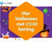 €2,50 Kortingscode met Halloween bij Social Deal