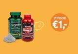 2e voor €1 op 1600+ producten bij Holland & Barrett (Tuinen)