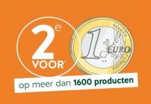 2e product voor €1 op 1600+ producten bij Holland & Barrett