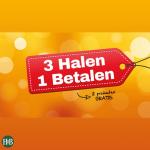 3 halen 1 betalen bij Holland & Barrett Holland & Barrett