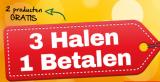 3 halen 1 betalen bij Holland & Barrett (Tuinen)