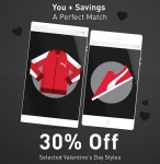 30% Korting op schoenen, kleding en accessoires met Valentijnsdag bij PUMA