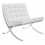 32% Korting Barcelona fauteuil wit voor €339,95 bij DealWizard