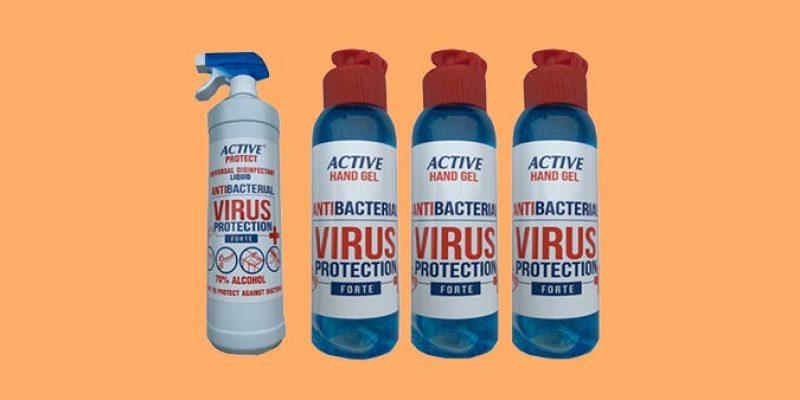 33% Korting Desinfecterende handgel of spray voor €19,95 bij Actievandedag