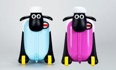 37% korting Shaun the Sheep rolkoffer voor €31,49 bij Groupon