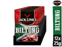 39% Korting 12x Jack Link's Biltong Original Beef Snack bij iBOOD