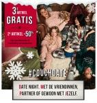 3e Gratis of 2e met 50% Korting op Cosy Nachtmode en Matching Accessoires bij Hunkemöller
