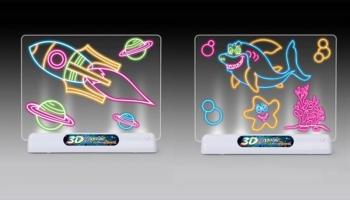40% Korting 3D tekentafel voor €14,99 bij Groupon