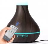 40% Korting iBello Aroma Diffuser met LED licht en afstandsbediening voor €29,95 bij DealWizard