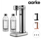 41% Korting Aarke Carbonator II + 2 Flessen bij iBOOD