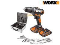 62% korting op Worx WX170.6 Accuboorschroefmachine 20 V bij iBOOD