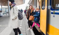 43% Korting Trein voordeeluren dagretour voor €23,50 bij Actievandedag