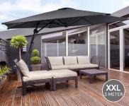 53% Korting Luxe XXL Zweefparasol van 3 meter voor €69,95 bij Vouchervandaag.nl